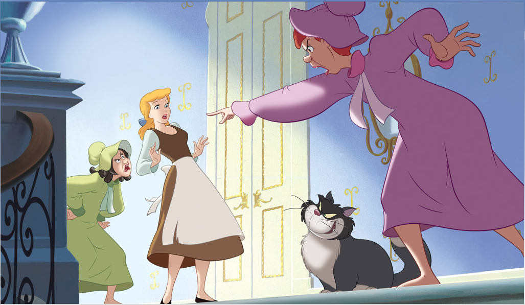 a comparison of modern day women rights to ancient fairy tale cinderella