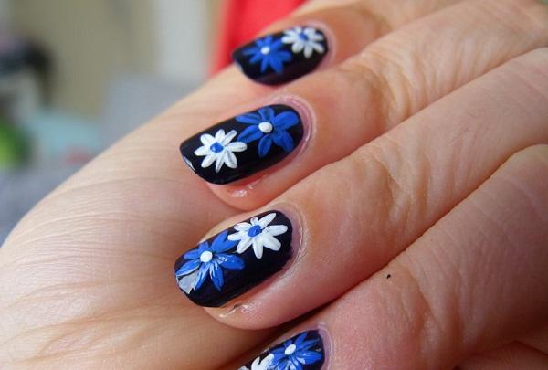Flower Nail Art Designs 1 Cute Nail Art Designs