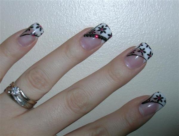 Flower Nail Art Designs 2 Cute Nail Art Designs