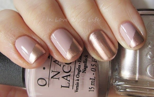 Glamour Nails And Some Features Eye Catching Minimalist Nail Art