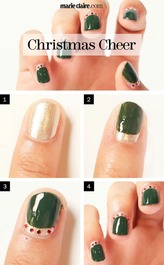 Do it yourself christmas nail designs choice image easy nail fantastic christmas nail art designs solutioingenieria Gallery