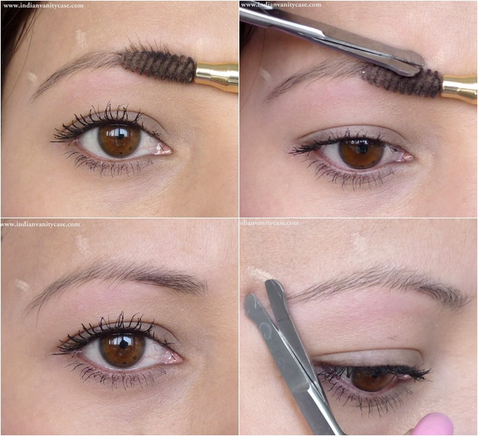 Trim The Eyebrows Grooming Tips
