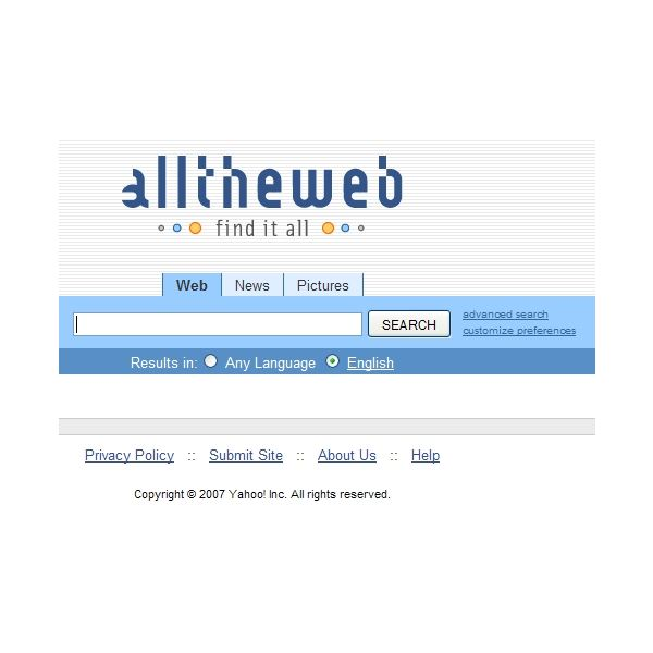 AllTheWeb Archives - Search Engine Watch