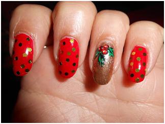 Leaf Nail Art Design Nails Art Designs