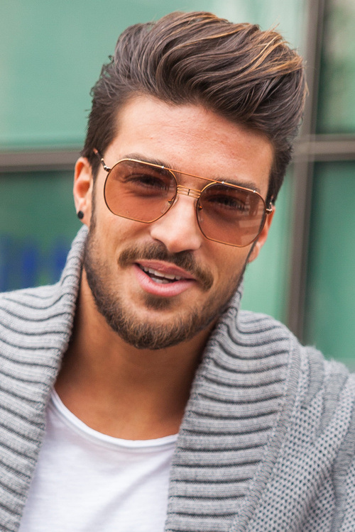 Waved Hairstyle with Added Volume - New Hairstyles for Men