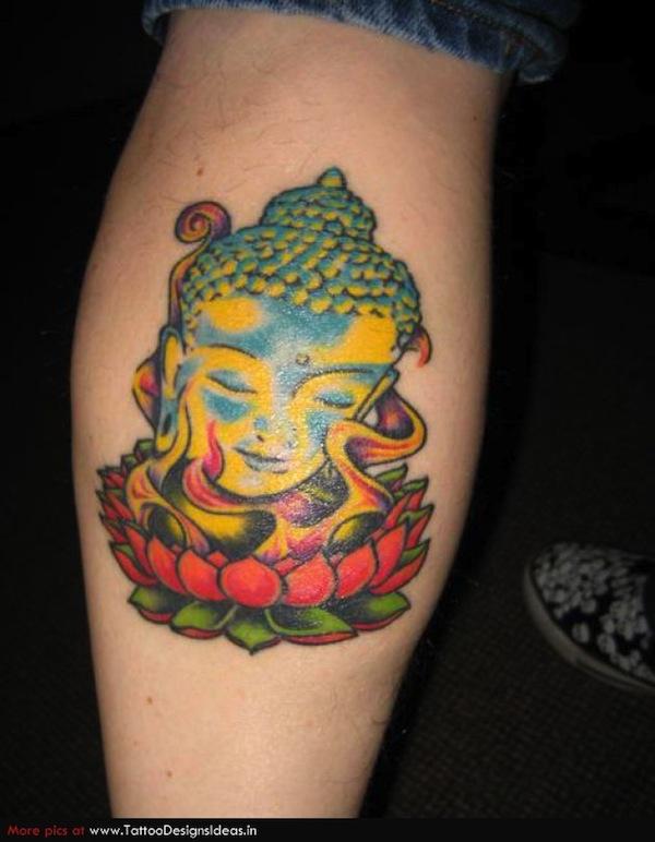 Buddha head on lotus flower tattoo new lotus flower tattoo designs buddha head on lotus flower tattoo mightylinksfo