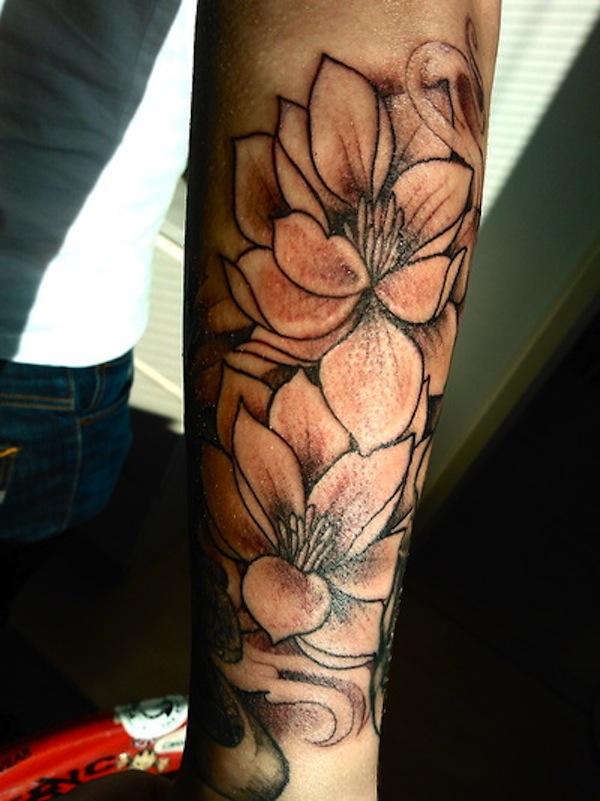 Outlined lotus flower tattoo new lotus flower tattoo designs outlined lotus flower tattoo mightylinksfo