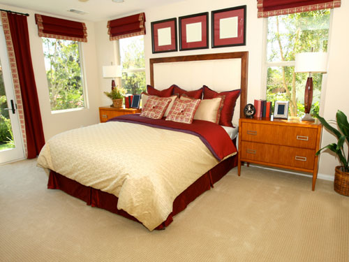 Red Done Right Tips To Decorate Your Bedroom