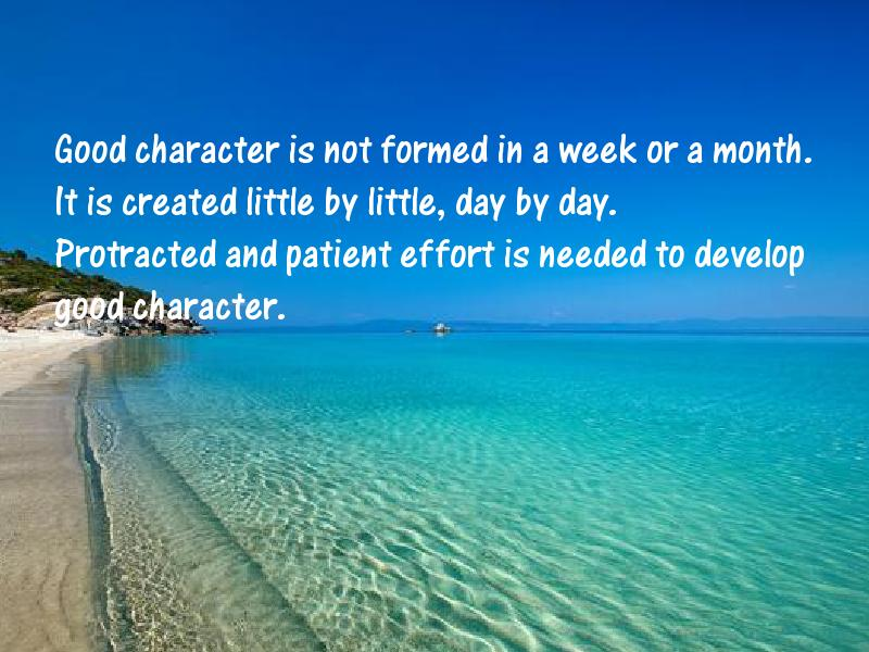 Character Motivational Quotes